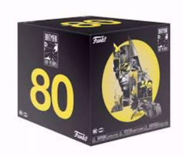 Funko Batman 80th Anniversary Box DC Comics מהדורה מיוחדת 80 שנה לבאטמן!