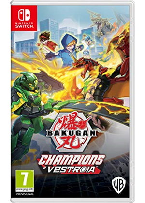 Bakugan Champions Of Vestroia Nintendo Switch