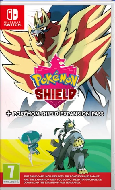 Pokemon Shield + Expansion Pass Nintendo Switch