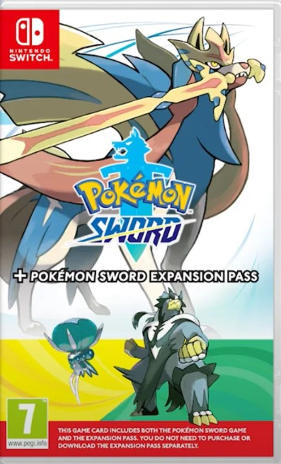 Pokemon Sword + Expansion Pass Nintendo Switch