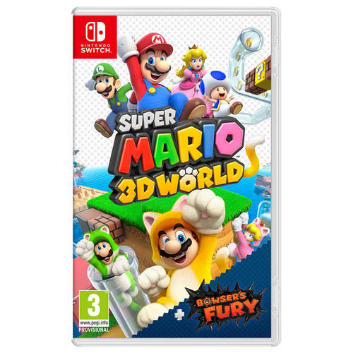 Super Mario 3D World + Bowser's Fury - הזמנה מוקדמת