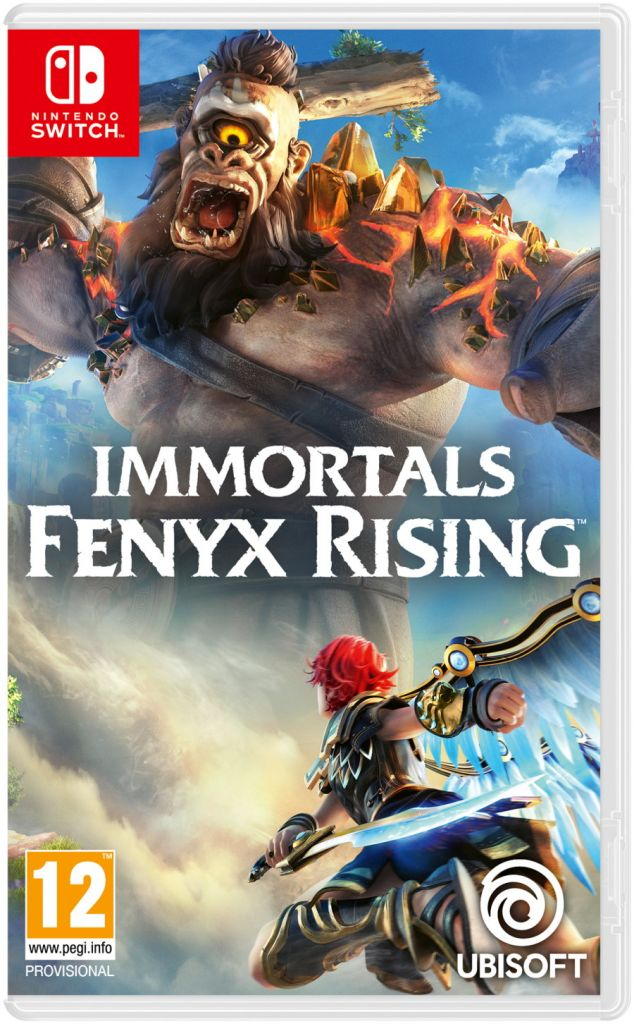 Nintendo Switch Immortals Fenyx Rising Shadow Master Edition