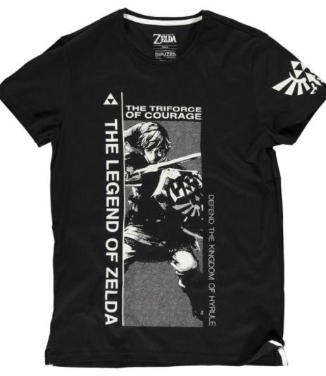 חולצה – זלדה טרייפורס התעוזה – שחור