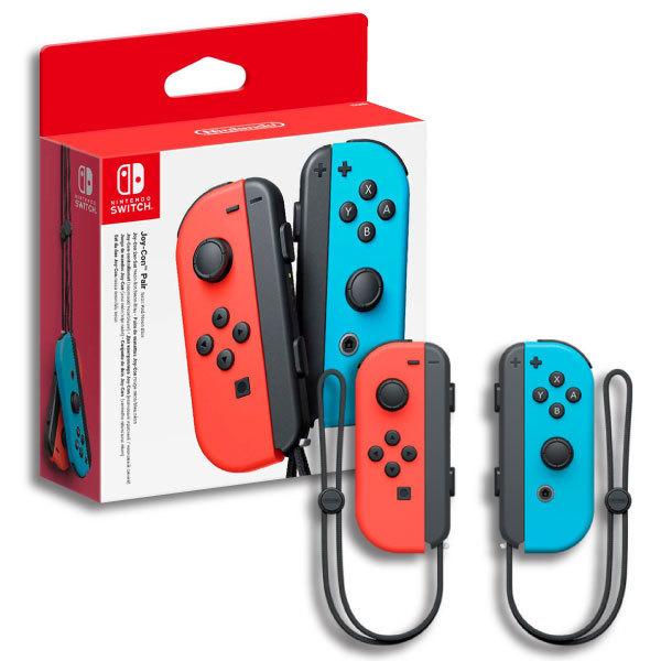 Nintendo Switch JoyCons Red/Blue יבואן רשמי נינטנדו