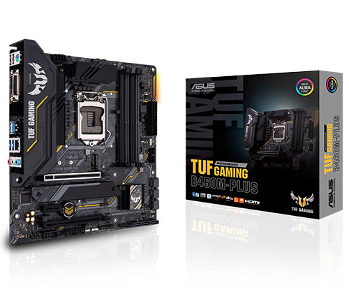 לוח אם Asus TUF Gaming B460-Plus Micro ATX
