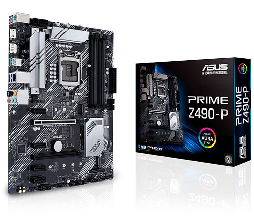 לוח אם Asus Prime Z490-P ATX