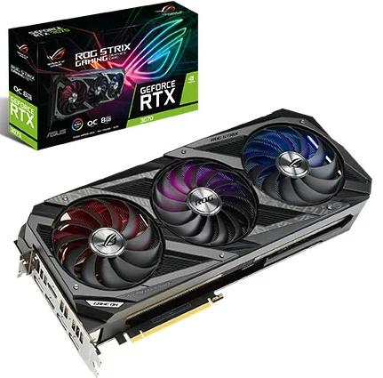 כרטיס מסך Asus ROG Strix GeForce RTX 3070 OC 8GB GDDR6