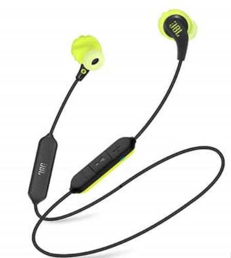אוזניות בלוטוס JBL ENDURANCE RUN BT ירוק/שחור