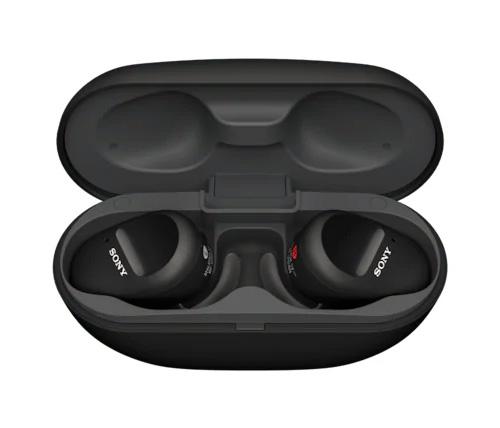 אוזניות אלחוטיות Sony WF-SP800NB True Wireless - צבע שחור