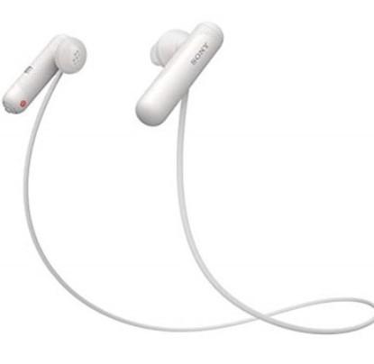 אוזניות ספורט SONY WI-SP500B צבע לבן