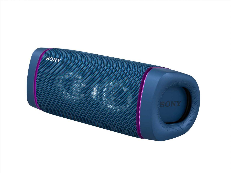 רמקול Bluetooth נייד Sony SRS-XB33B IP67 EXTRA BASS - צבע כחול