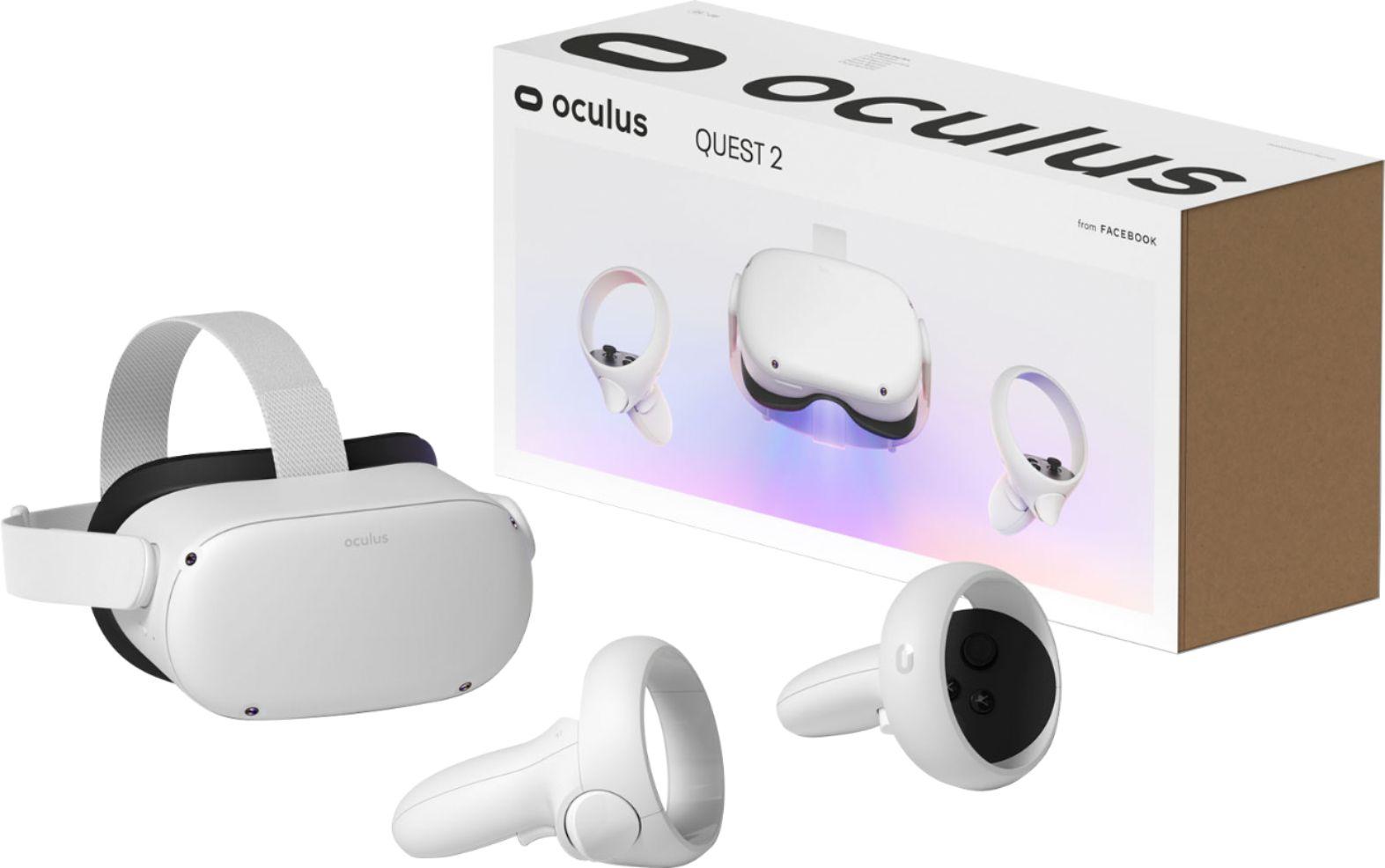 משקפי מציאות מדומה Oculus Quest 2 64G