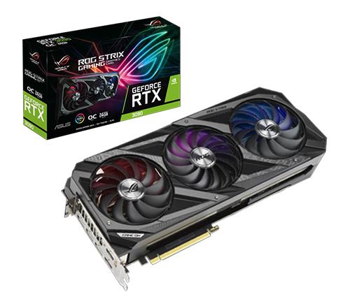 כרטיס מסך Asus ROG Strix GeForce RTX 3090 OC 24GB GDDR6X