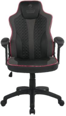 כיסא גיימינג DRAGON SNIPER LED RGB שחור אפור