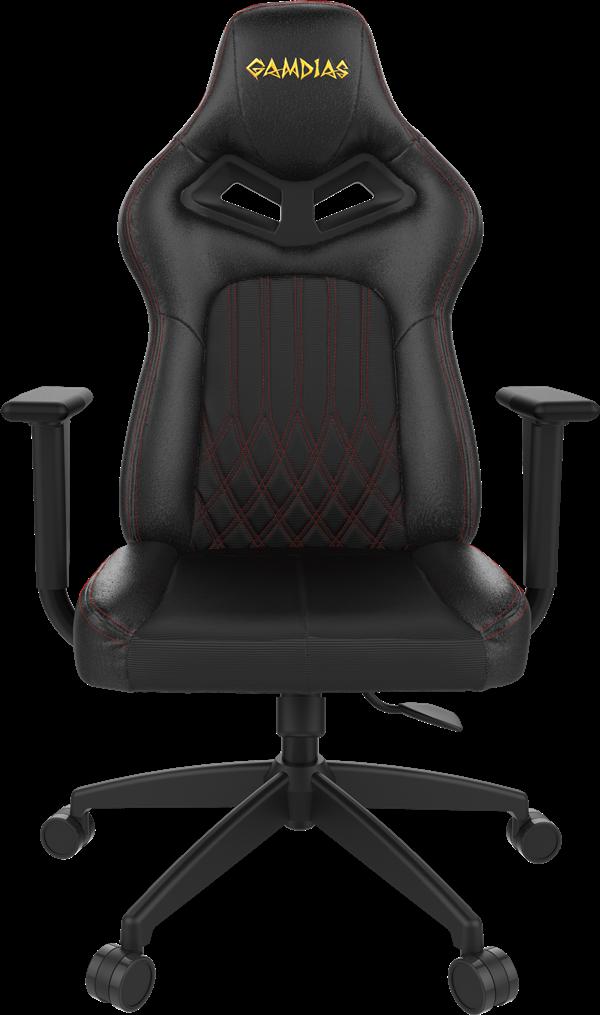 כיסא גיימרים  Gamdias Achilles E3 RGB שחור אדום