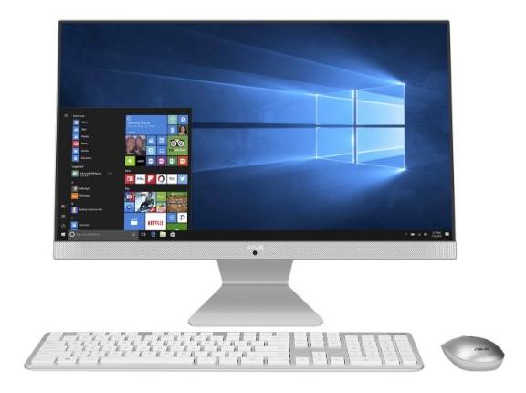 מחשב נייח ASUS VIVO AIO i5-1135G7 23.8 FHD 8GB 512NVME DOS WHITE 1Y