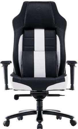 כיסא גיימינג Dragon Super Tanker שחור לבן