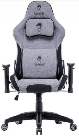 כיסא גיימינג Dragon Cyber אפור