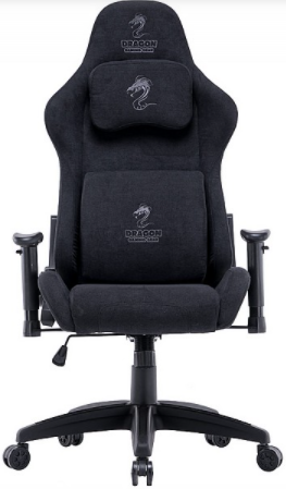 כיסא גיימינג Dragon Cyber שחור
