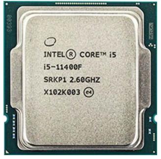 מעבד INTEL Core i5-11400F Tray 12MB LGA1200 65W NO GPU No FAN