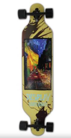 """לונגבורד עץ מקצועי 104 ס""""מ – Skater Surfing"""
