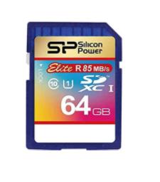 כרטיס זיכרון SP ELITE SDHC 64GB