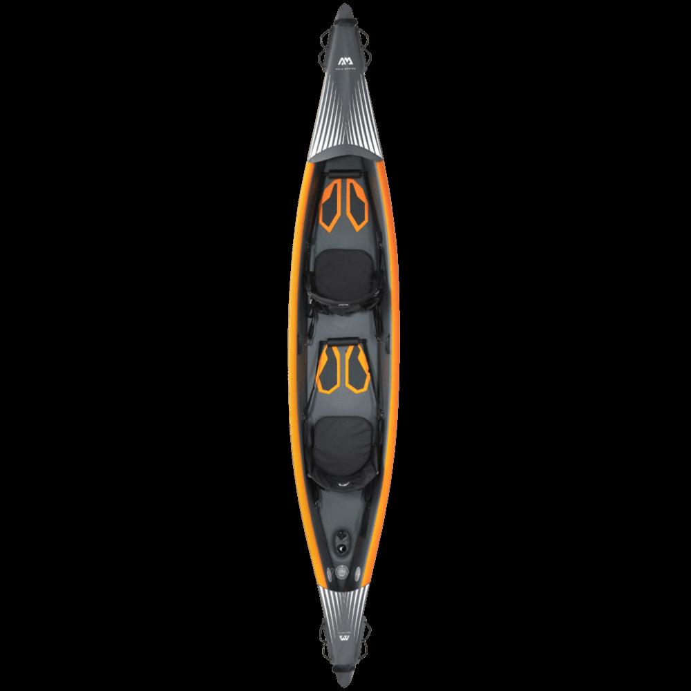 קיאק המיועד לשני אנשים דגם Tomahawk AIR-K440 מבית AQUA MARINA