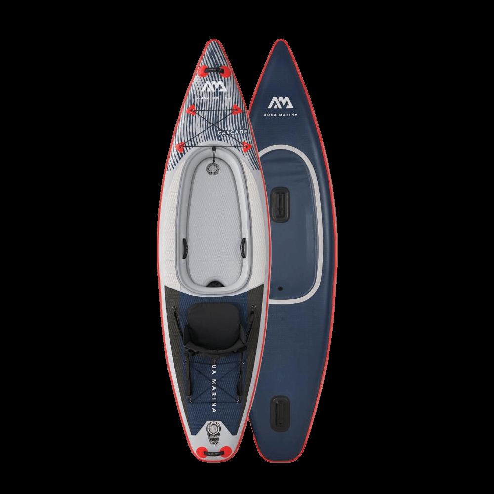 קיאק+סאפ דגם Cascade 2IN1 3.4m/20cm מבית AQUA MARINA