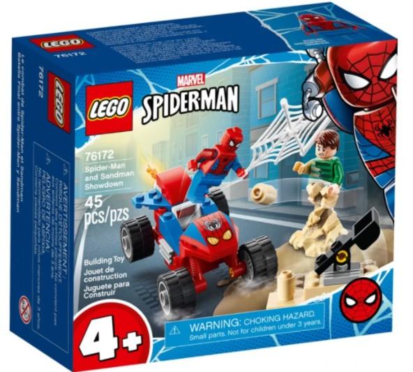 Lego 76172 - Spider-Man and Sandman Showdown