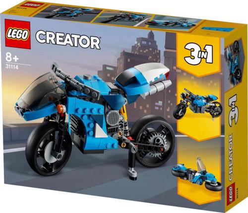 לגו קריאטור - סופר אופניים 31114