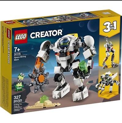 Lego 31115 Space Mining Mech רובוט כרייה בחלל