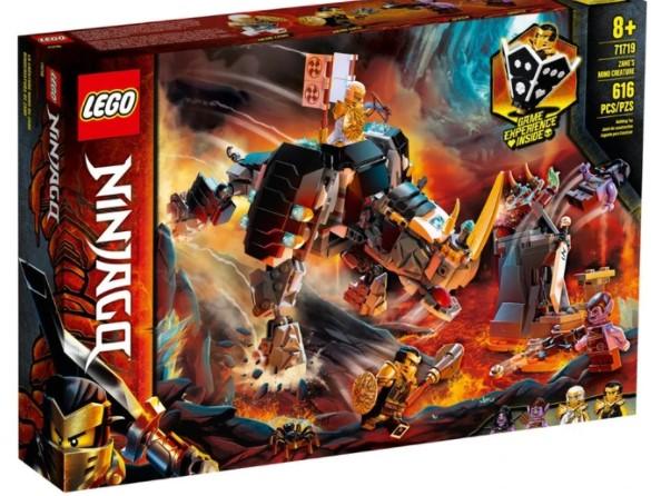 Lego לגו - 71719 - Zane's Mino Creature
