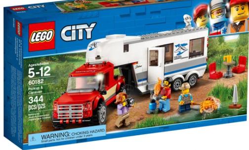 לגו 60182 Lego - משאית עם קראוון