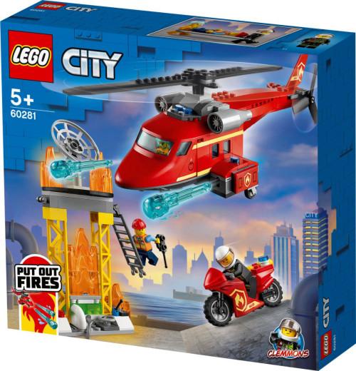 לגו סיטי - מסוק חילוץ של מכבי האש 60281