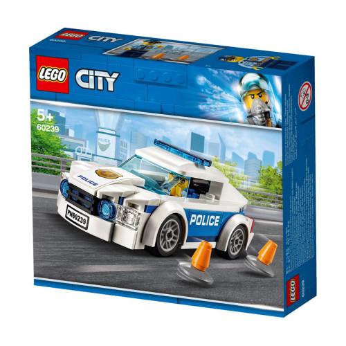 לגו סיטי - מכונית פטרול משטרה 60239