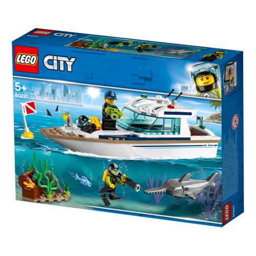 לגו סיטי - יאכטה צלילה 60221