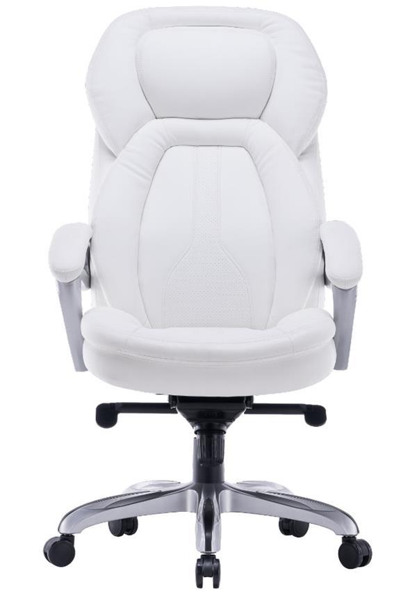 Dragon כסא מנהלים משרדי AMBASSADOR לבן