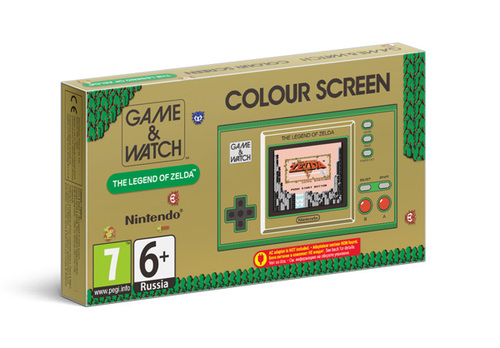 קונסולת Game & Watch: The Legend of Zelda - הזמנה מוקדמת