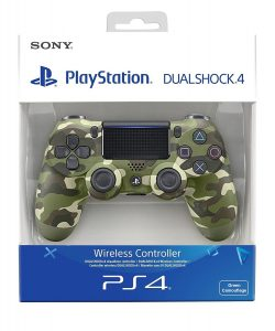 Sony PS4 DualShock 4 V2 Green Camouflage