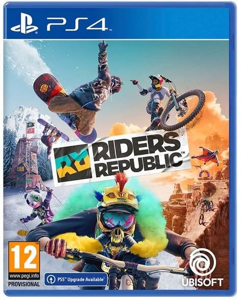 PS4 - RIDERS REPUBLIC: Free Ride Edition הזמנה מוקדמת