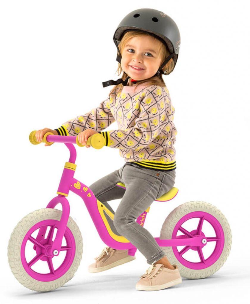 אופני איזון צ'רלי - Chillafish ורוד