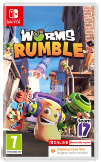 Worms Rumble Fully Loaded Edition Nintendo Switch