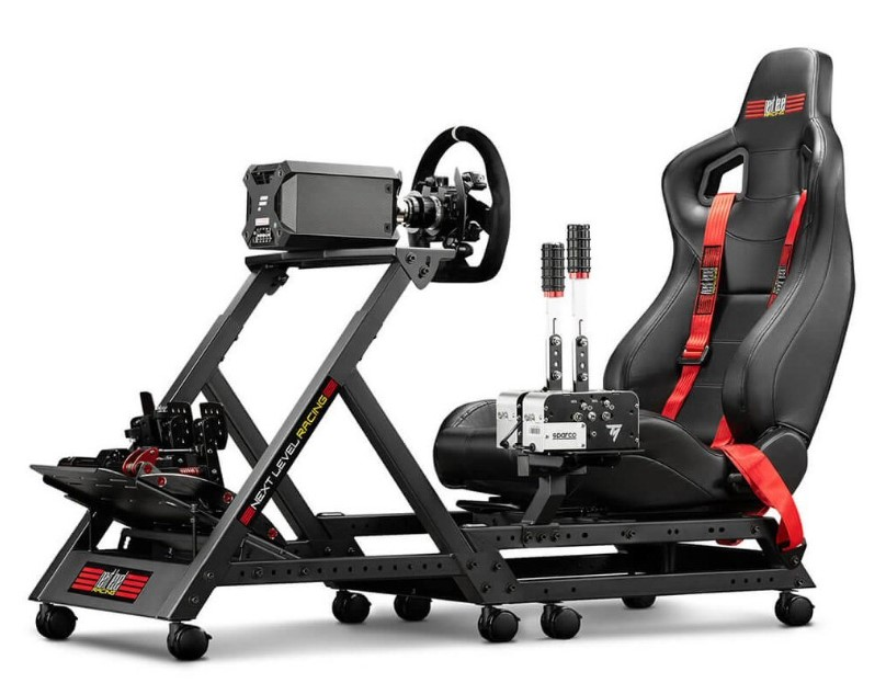 סימולטור Next Level GTTrack Racing Simulator Cockpit