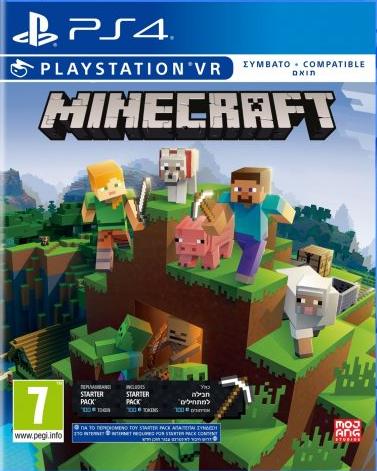 PS4 Minecraft VR