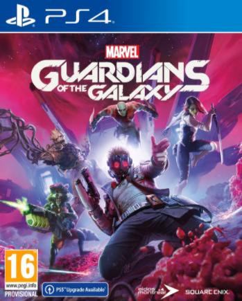 PS4 - MARVEL'S GUARDIANS OF THE GALAXY הזמנה מוקדמת