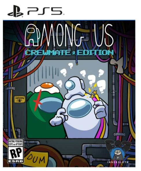 Among Us Crewmate Edition PS5 הזמנה מוקדמת