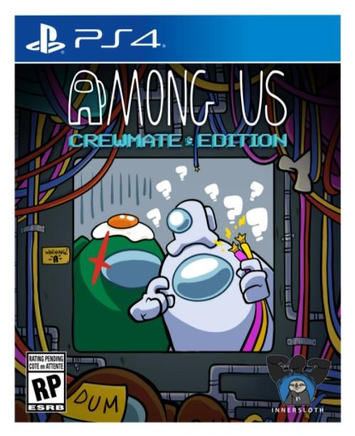 Among Us Crewmate Edition PS4 הזמנה מוקדמת