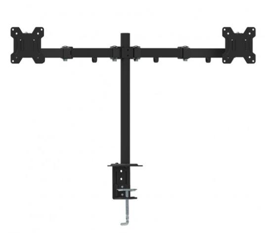מתקן תלייה ל-2 מסכים עם חיבור שולחני LEXUS MS-02