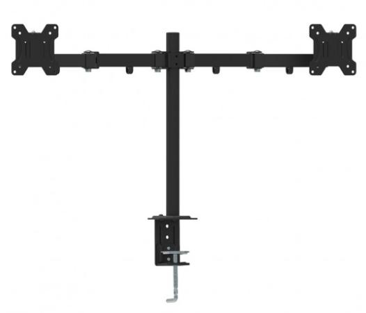 מתקן תלייה ל-2 מסכים עם סטנד שולחני LEXUS MS-01N