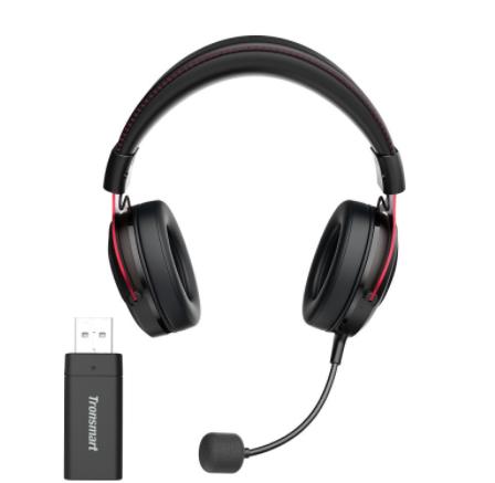 אוזניות גיימינג Tronsmart Shadow Wireless gaming headset